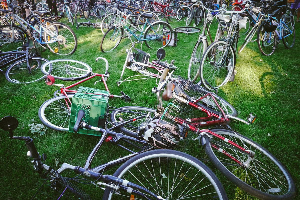 Bikes at Art Spin Toronto