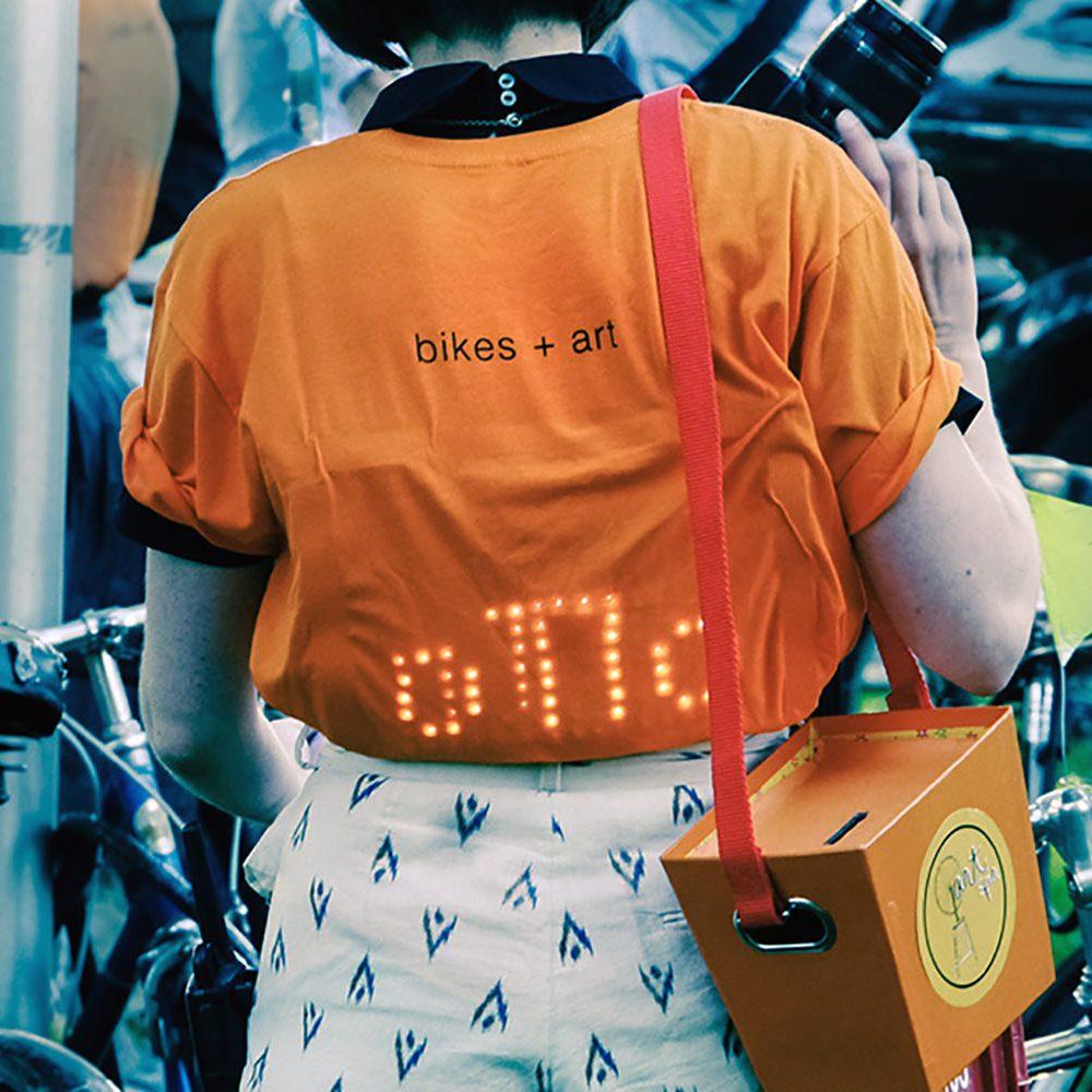 Art + Bikes shirt