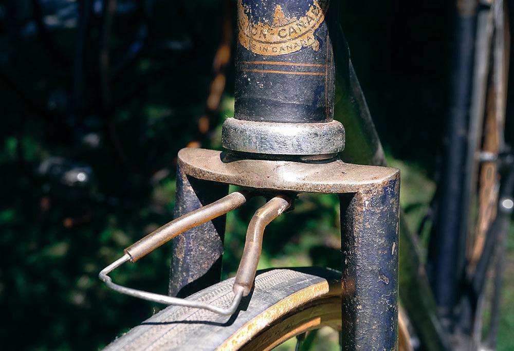 Vintage bicycle wood rim