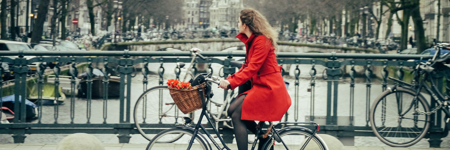 Bicycle chic in Amsterdam