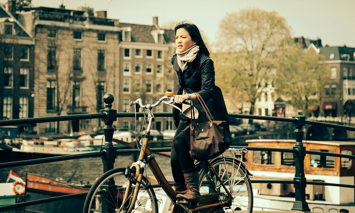 Amstel Run | Bicycle Chic Amsterdam