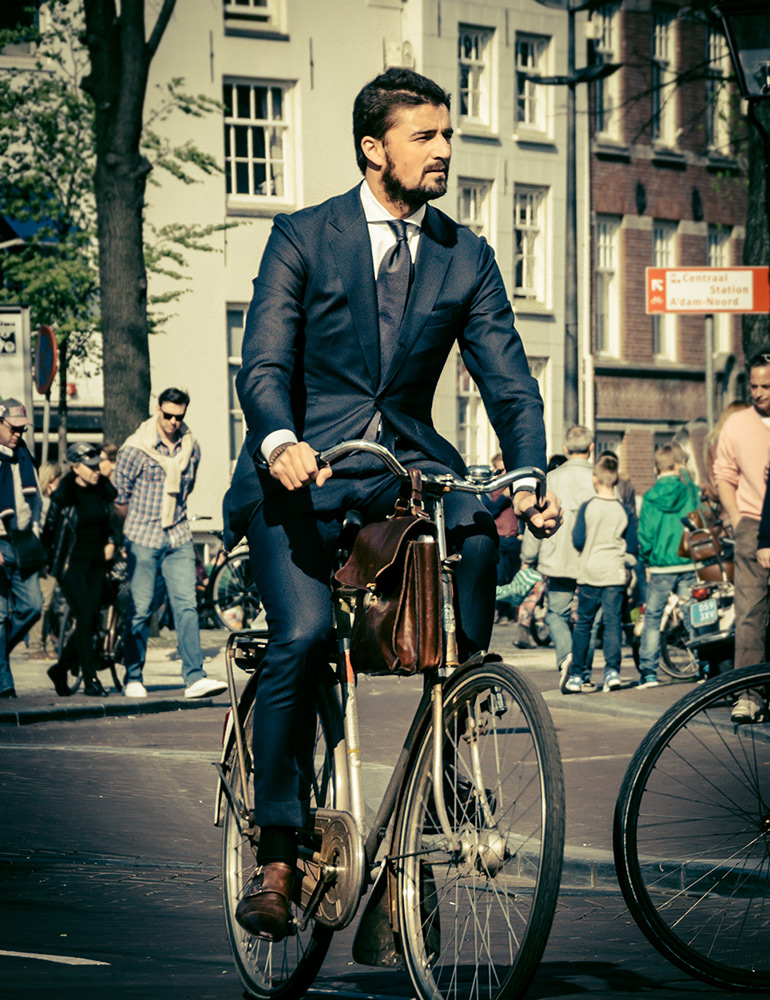 Bespoke Blue | Bicycle Chic Amsterdam