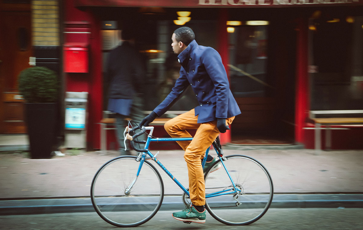 Cruisin in Style | Bicycle Chic Amsterdam