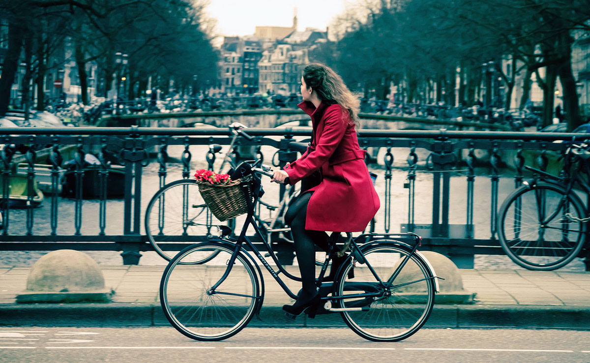 Red Rider | Bicycle Chic Amsterdam