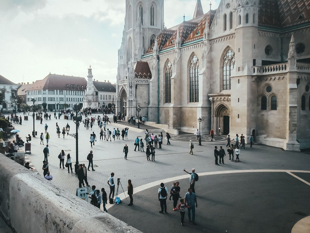 View atop Fisherman's Bastion