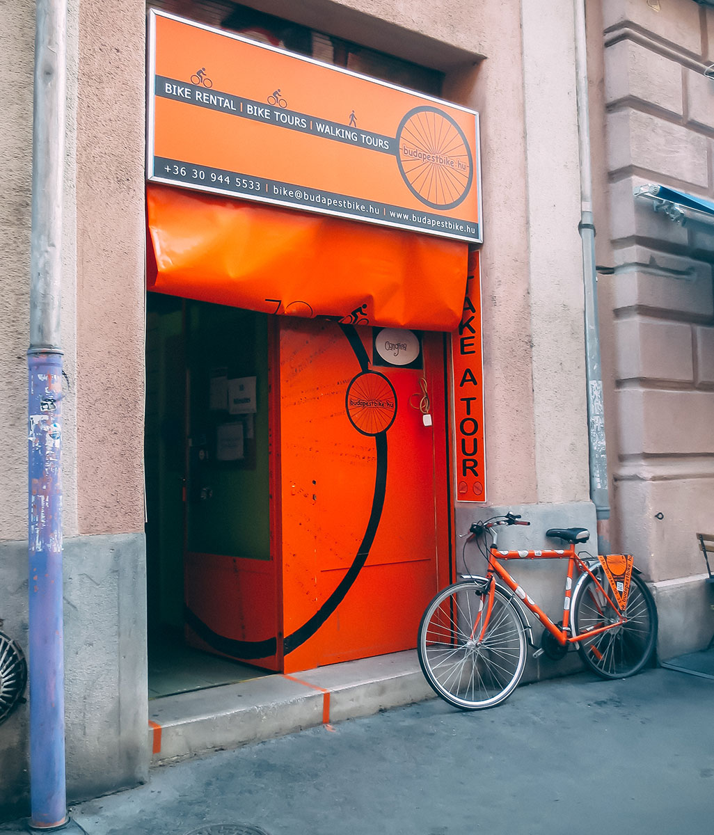 Budapestbike Bike Rental