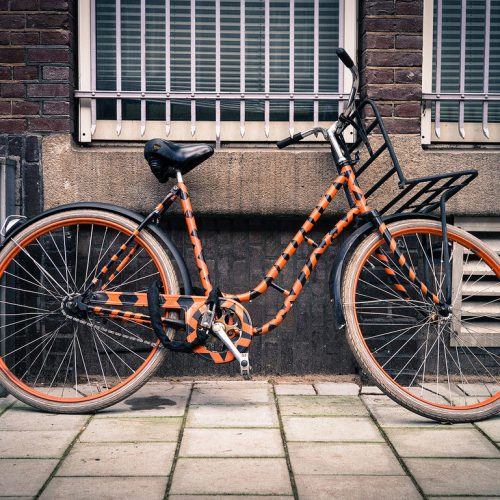 Tony the Tiger's bicycle