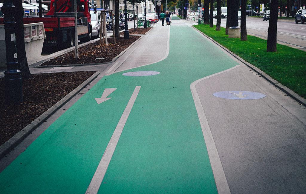 Vienna Bike Lanes