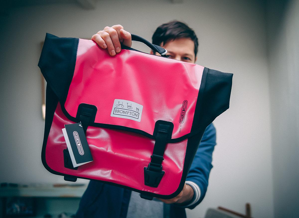 Pink 0-bag