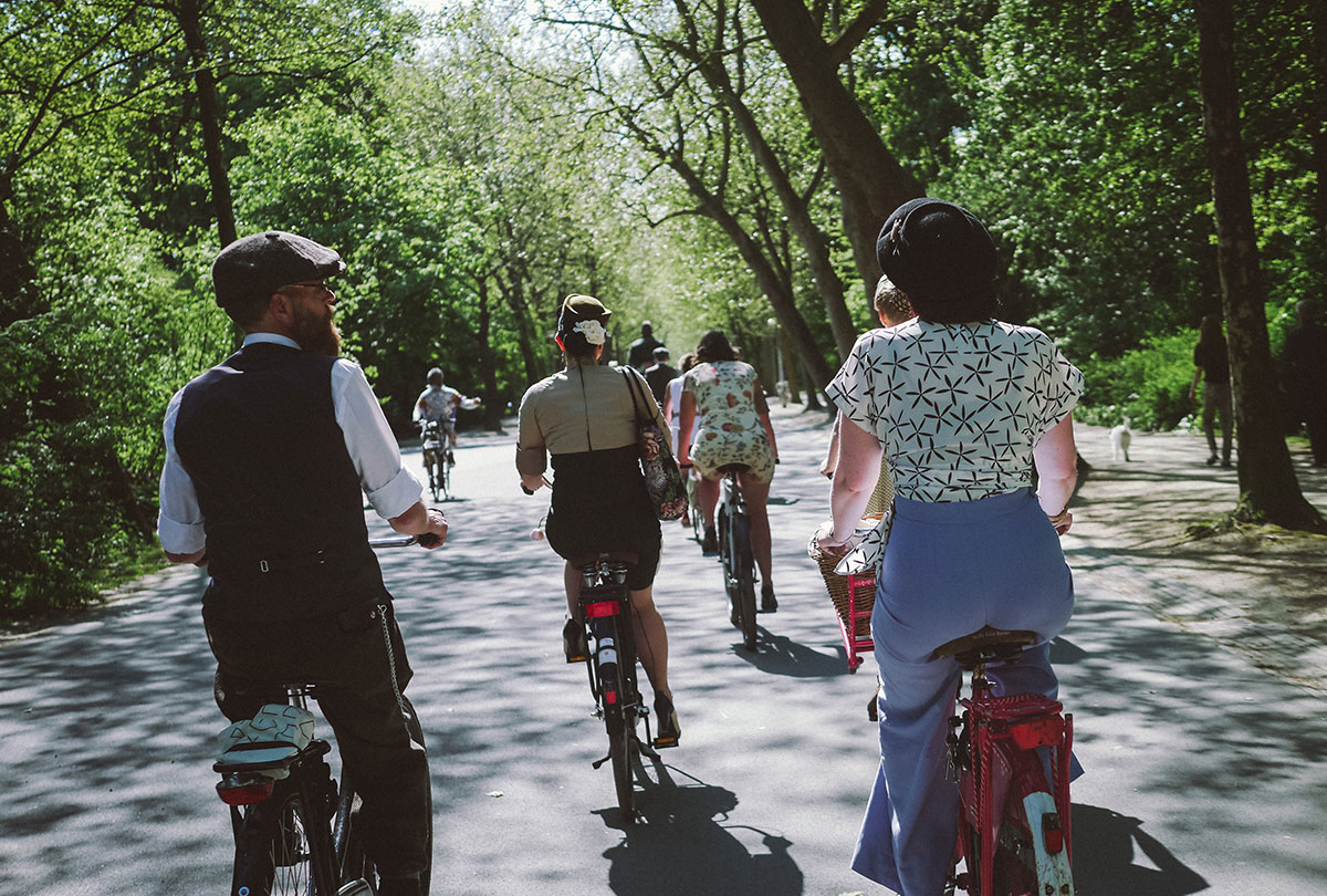 Tweed Ride Vondelpark