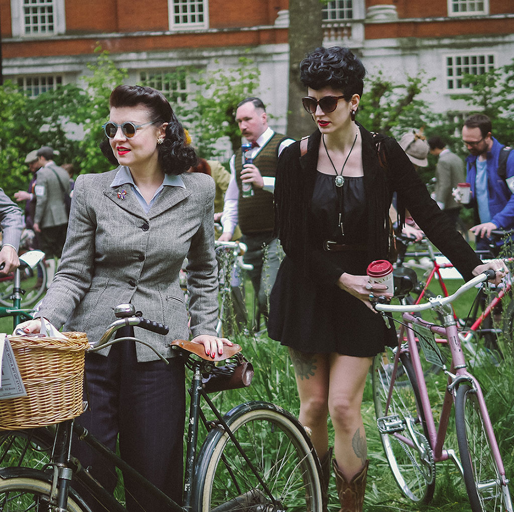 Ladies of Tweed Run