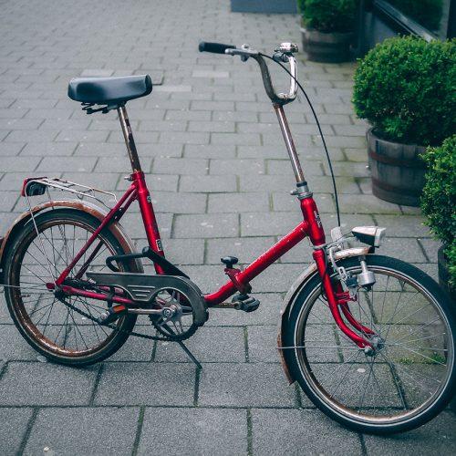 Folding Toscana bicycle