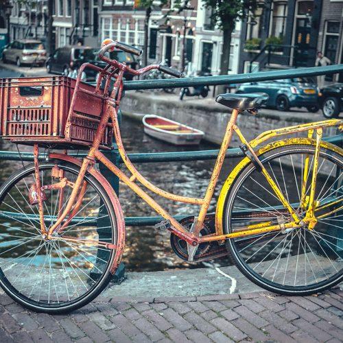 Vintage omafiets bicycle