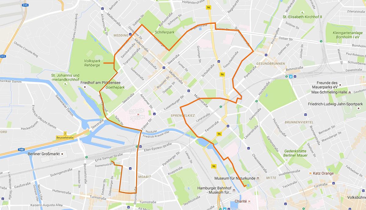 Art Spin Berlin Map