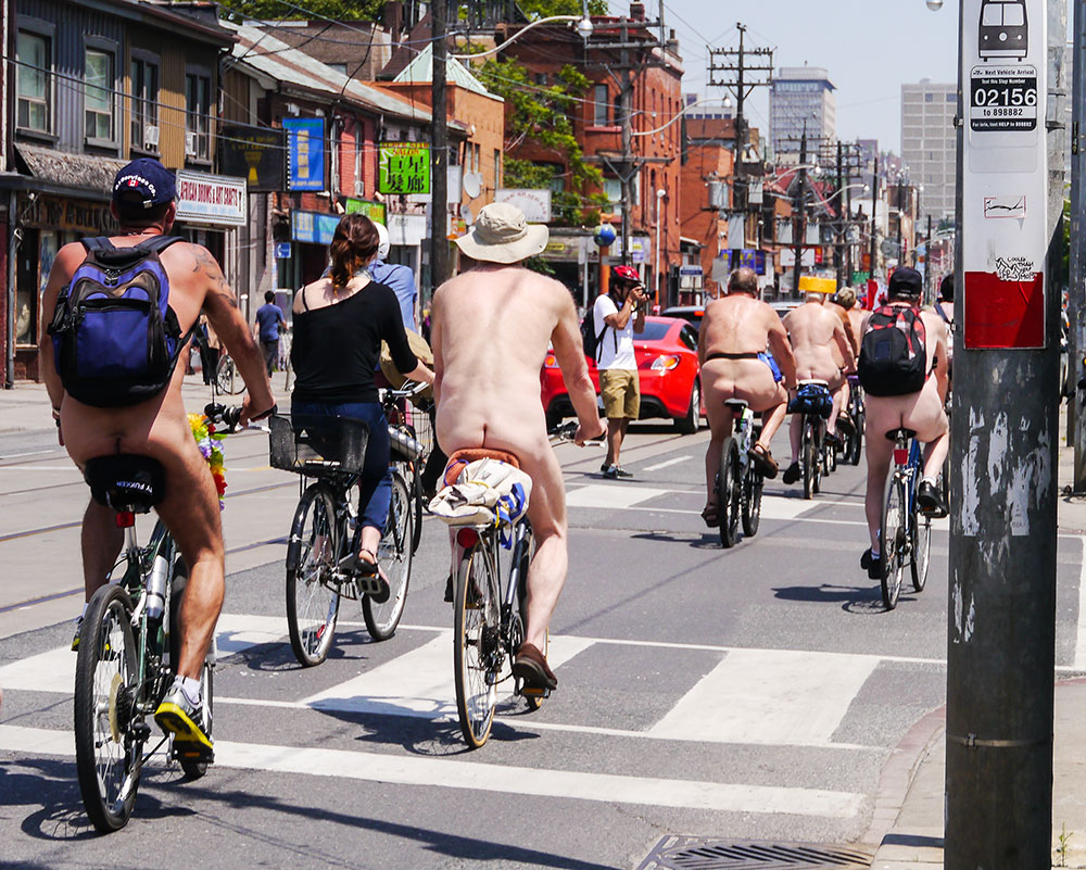 Bike into town