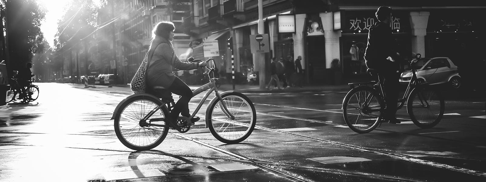 Bicycle Street Photography winter 2016