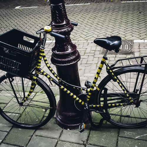 striped hornet bicycle