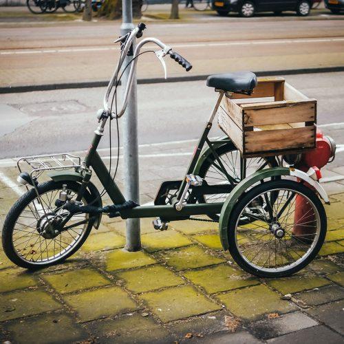 Inca three wheel bicycle