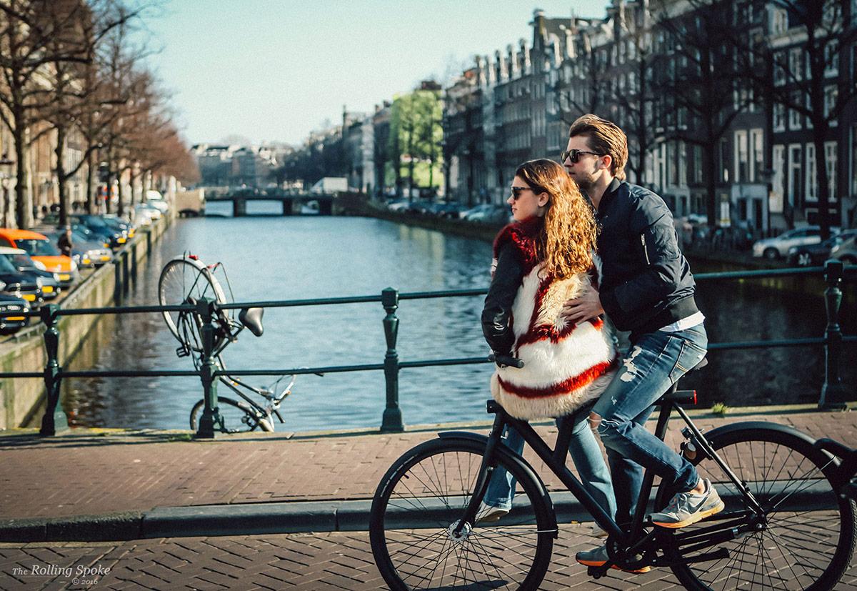 Vanmoofed in Amsterdam