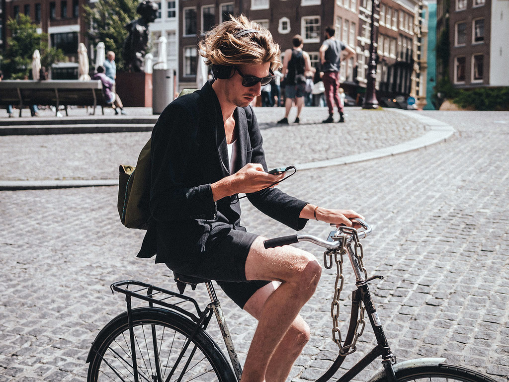 Bike and Text