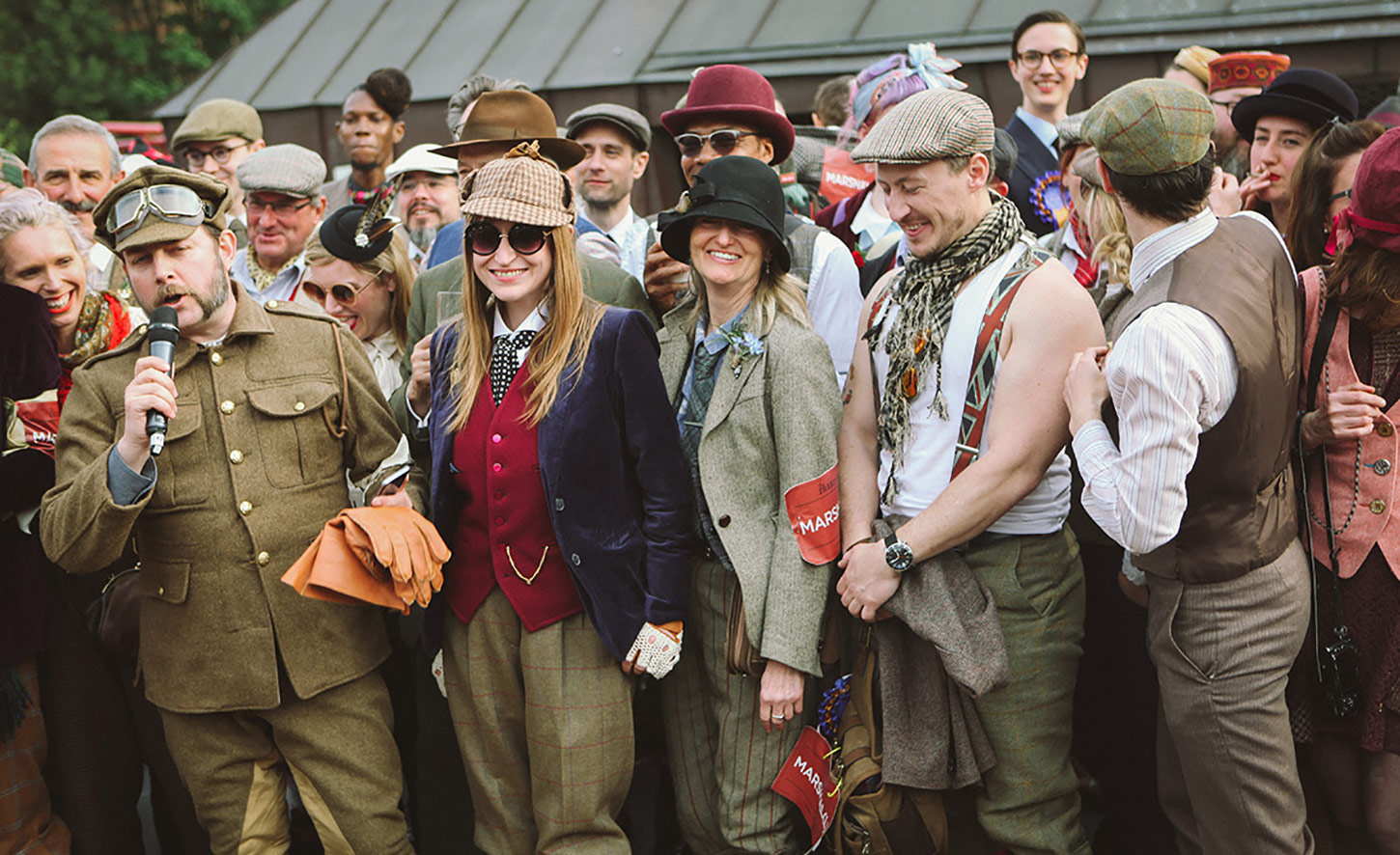The heroes of Tweed Run London 2017, The Marshals