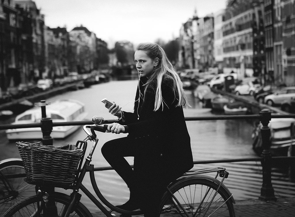 Buds   Bicycle Street Photography Amsterdam
