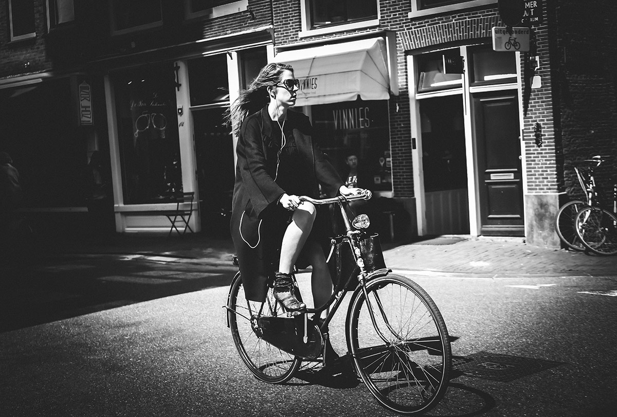 Vinnies   Bicycle Street Photography Amsterdam