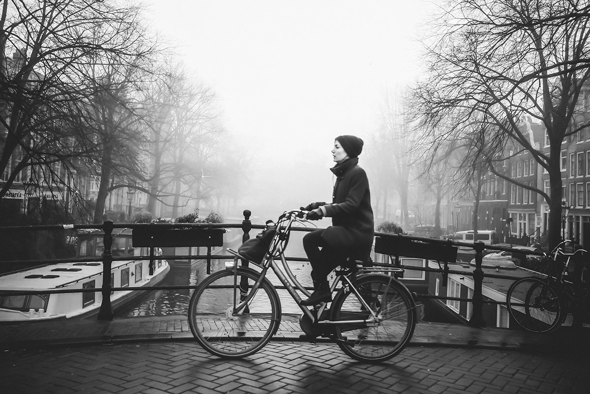 Jordaan Canal | Bicycle Street Photography Amsterdam
