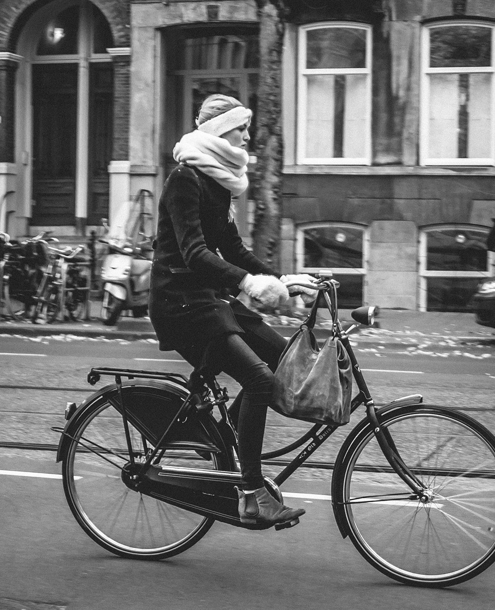 Marshmallow wrap | Bicycle Street Photography Amsterdam