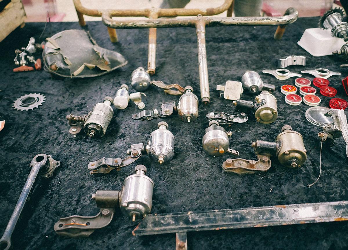 Fietsen Verzamel Beurs | parts
