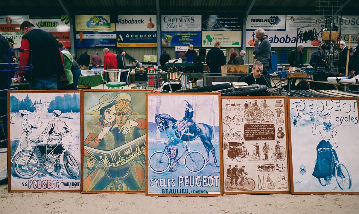 Fietsen Verzamel Beurs | Vintage Bicycle Posters