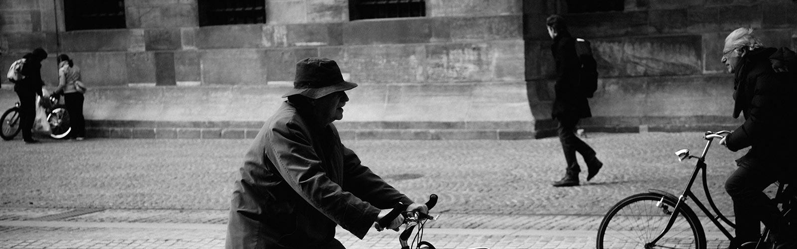 Bicycle Street Photography Autumn 2017