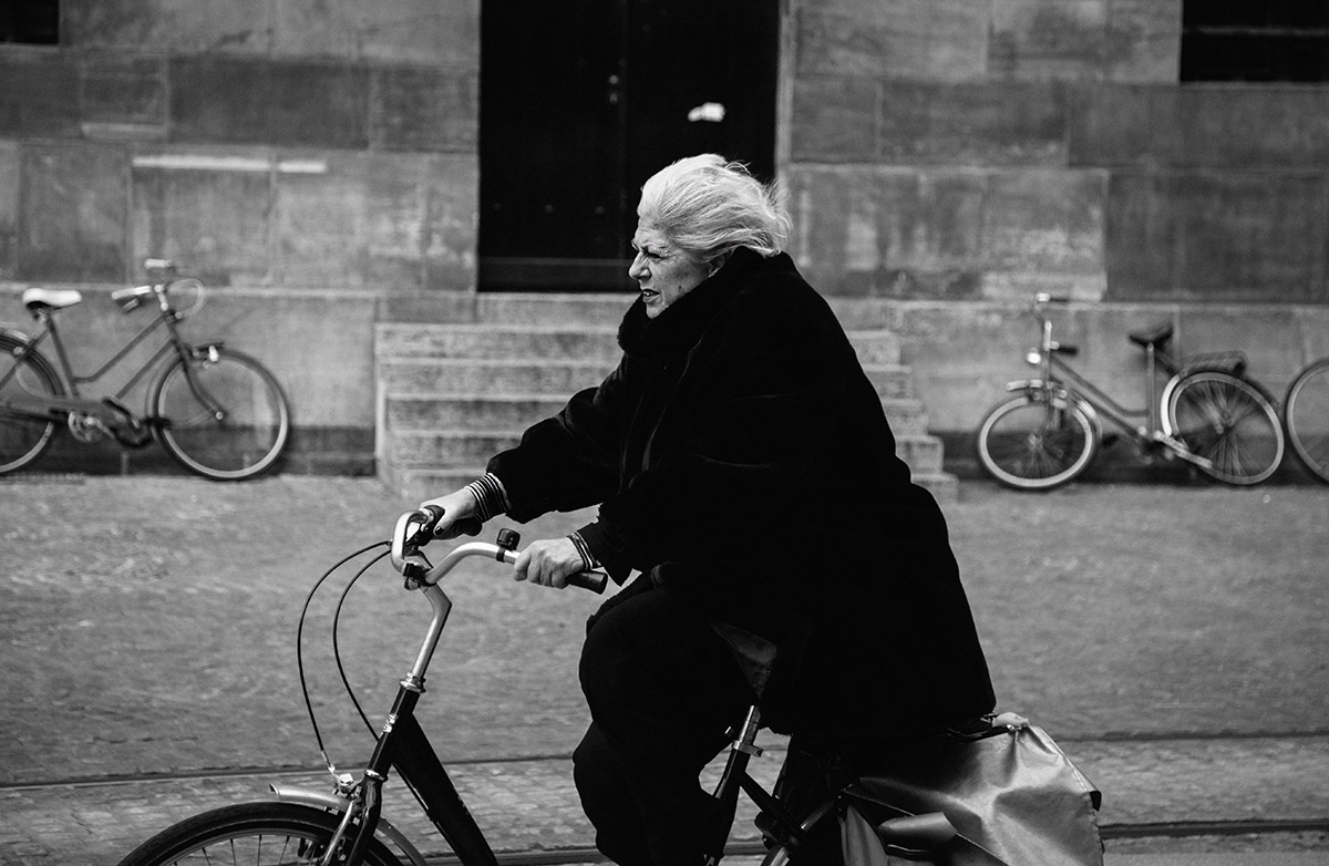 Bicycle Street Photography in Amsterdam