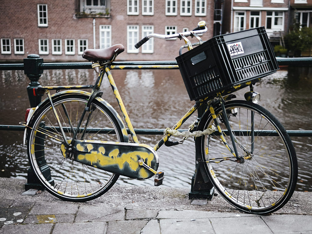 Art or vandalism | The painted bicycles of Amsterdam