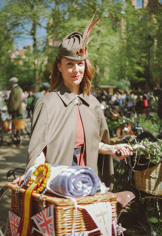 Tweed chic | Tweed Run London 2018