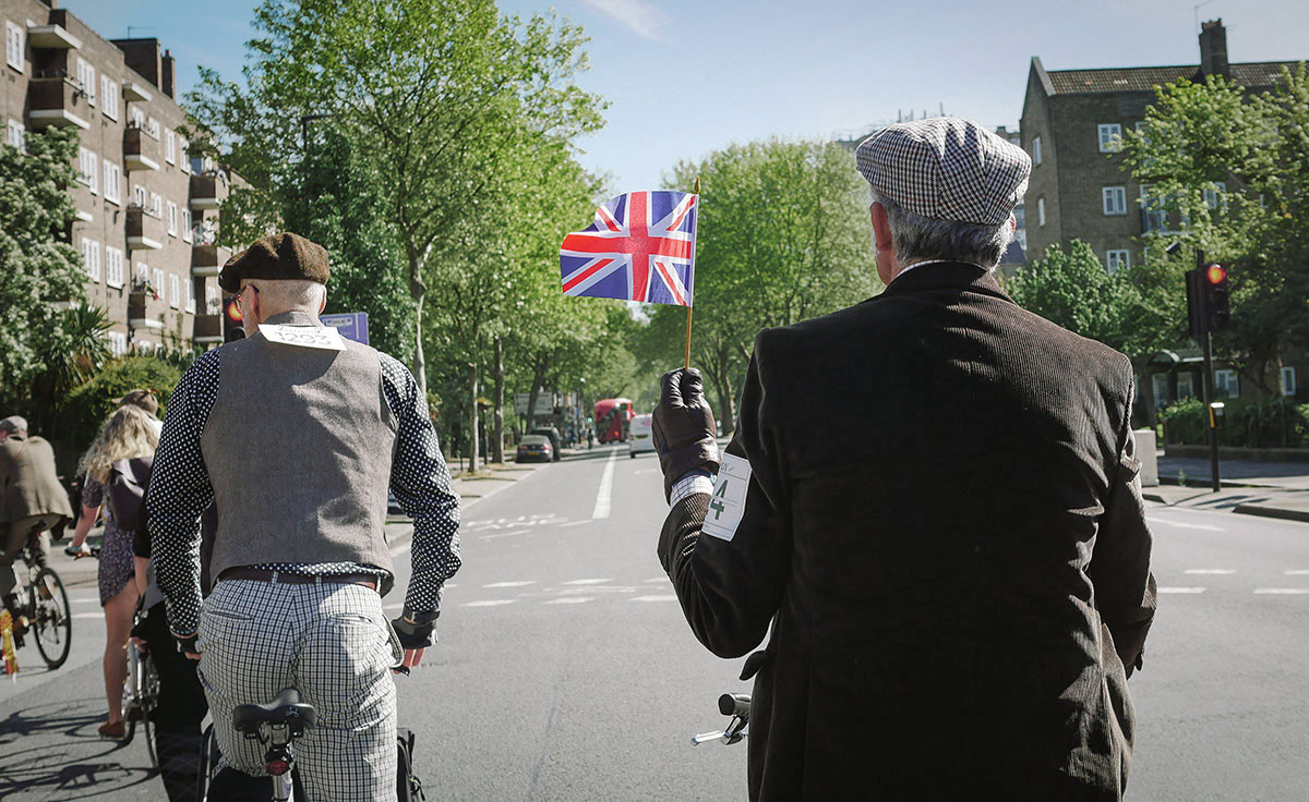 Tweed Run London 2018