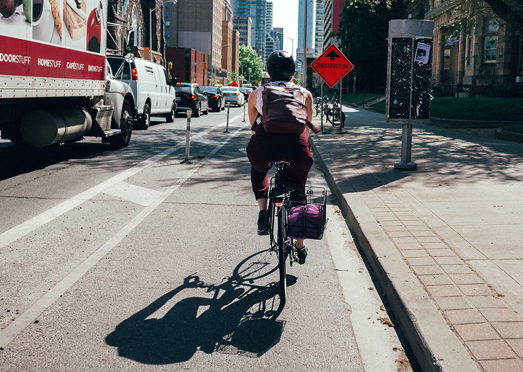 Bike Toronto Bike Lanes Bloor West
