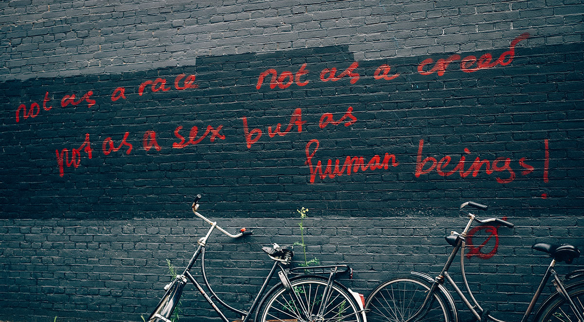 But as human beings