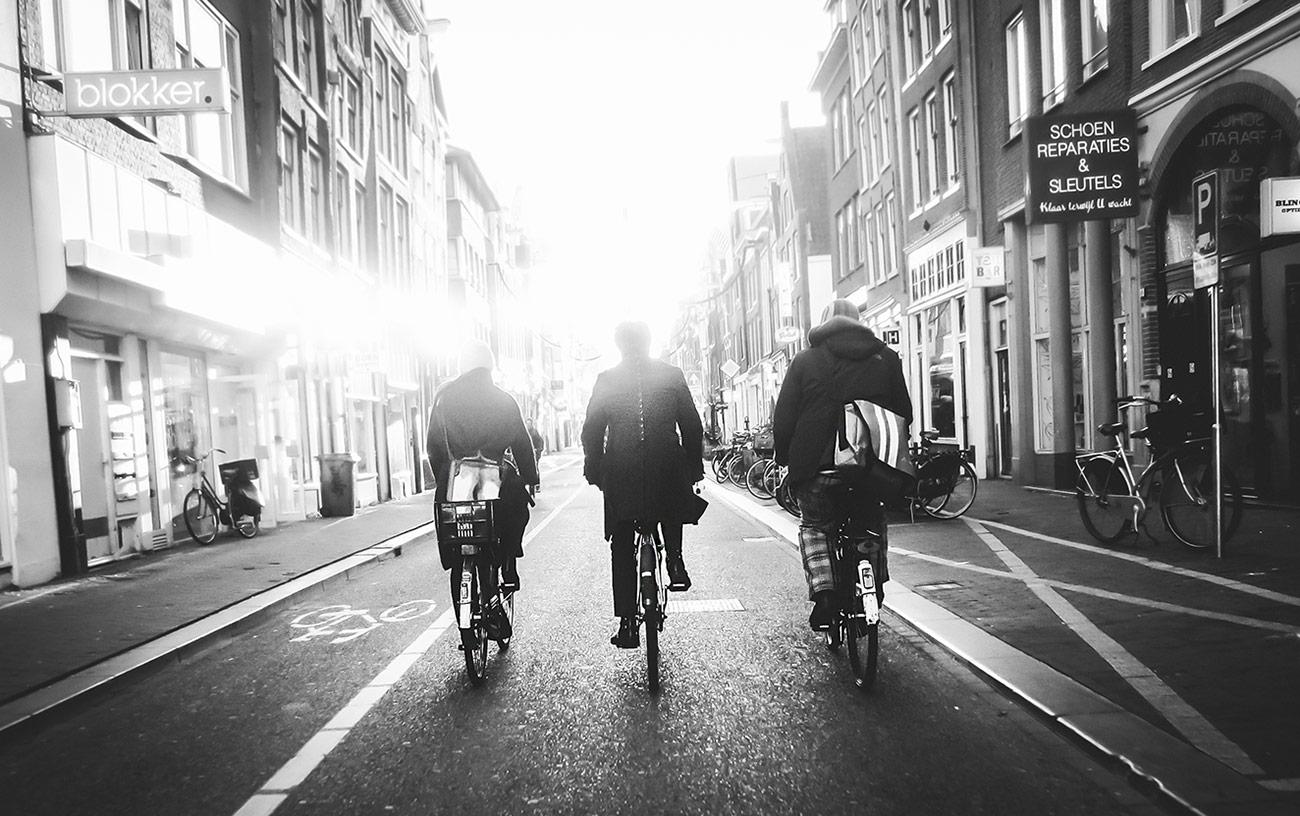 Morning on Haarlemmerstraat