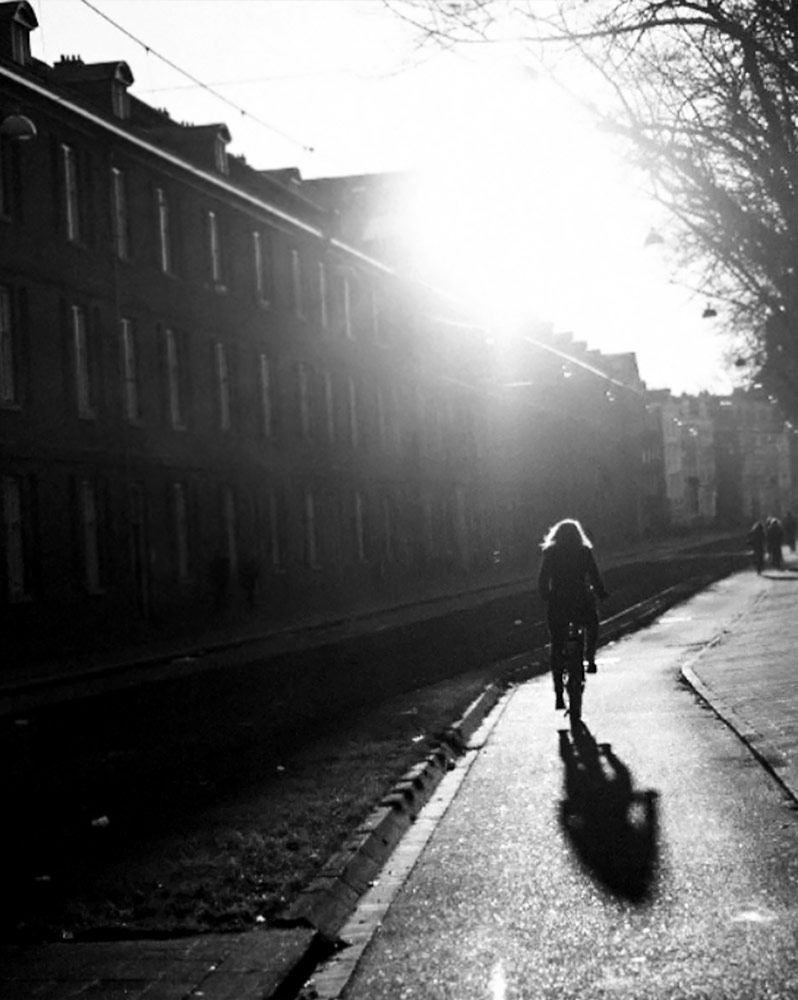 Sunset on Sarphatistraat