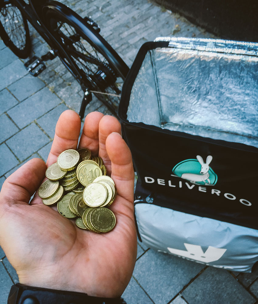 Deliveroo tips
