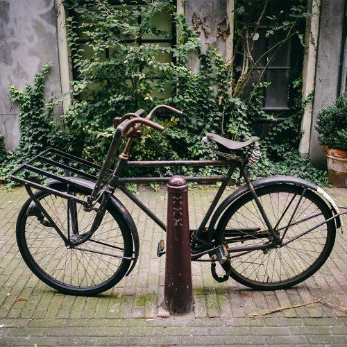 Classic vintage Batavus double top tube bicycle