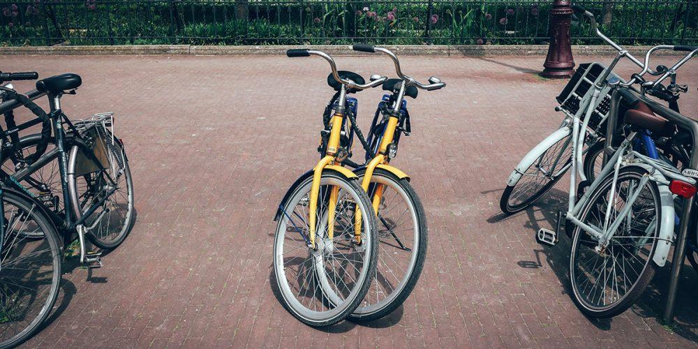 Parked OV-fiets