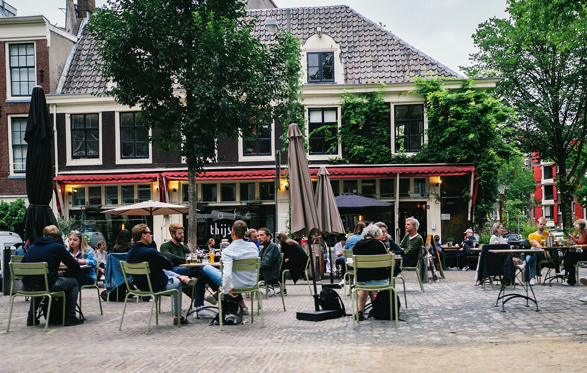 Restaurants taking over public spaces during COVID-19