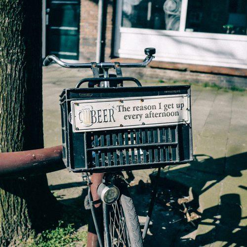 Personalized biked basket