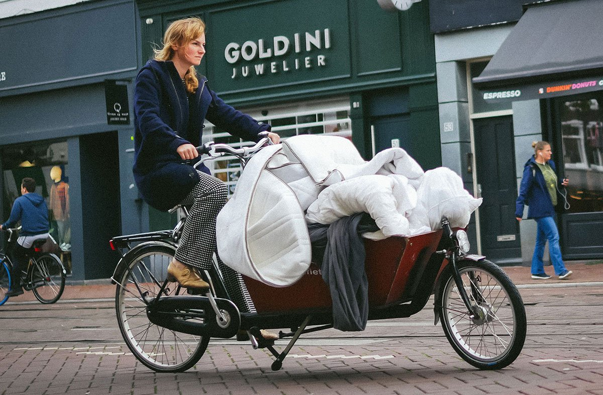 Moving things on a bakfiets